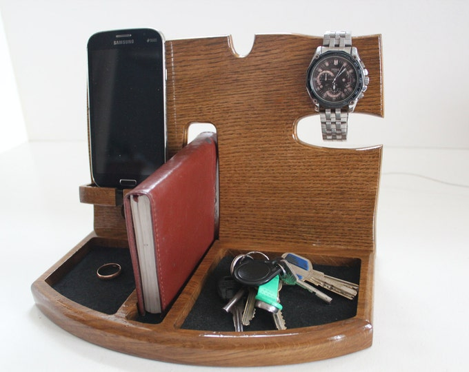 Phone Docking Station,Gift for men,Fathers Day Gift,Gifts for Boyfriend,Birthday Gifts For Men,Gifts For Husband,groomsmen gift,gift for man