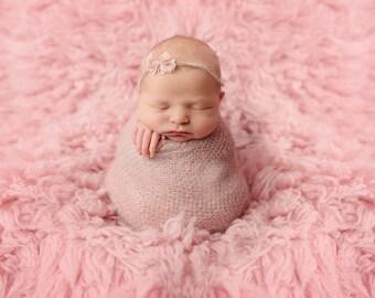 Newborn wrap, newborn photo prop, baby wrap, photography prop, photo prop, mohair wrap, wrap, knit wrap, knitted wrap