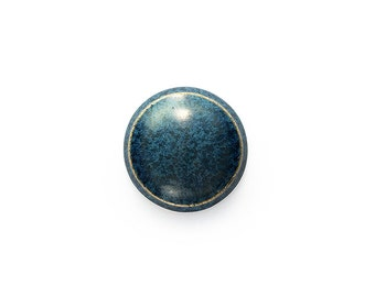 Ceramic Blue Effect Cabochon 1 piece