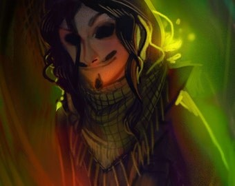 Custom Digital Sketch Portrait