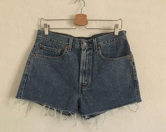 Vintage Levis 505 Denim Cutoff Shorts