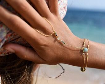 Bohemian hand jewelry