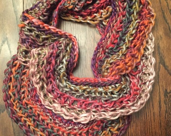Super Soft Multi-Color Infinity Scarf