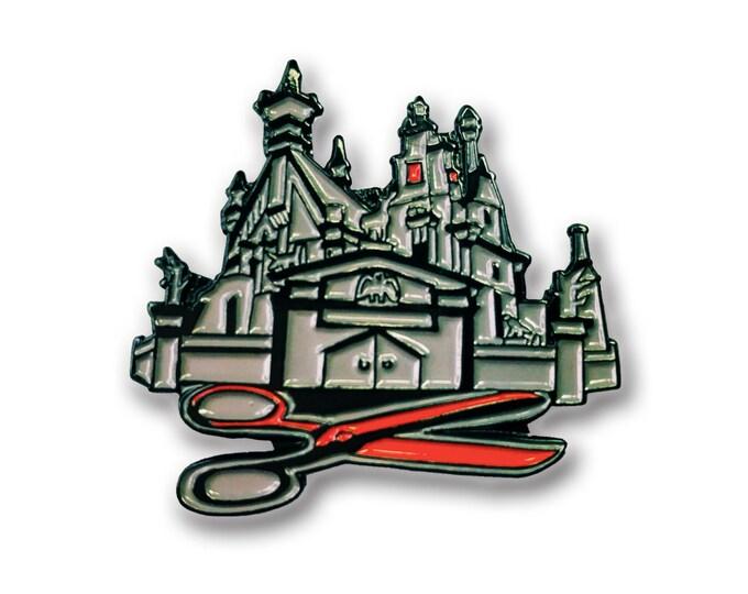 Scissor House Pin