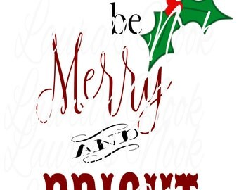 May your days be Merry and Bright Version 2
