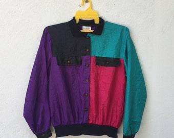 Vintage 80-90s lauren lee souvenir baroque swag  women button down/jacket size S