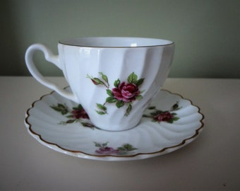 Johnson Bros Tea Pair Ironstone Made In England Vintage 7 Pairs Available
