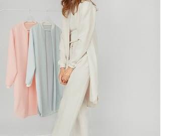 White pants for women / cream trousers / slacks for ladies