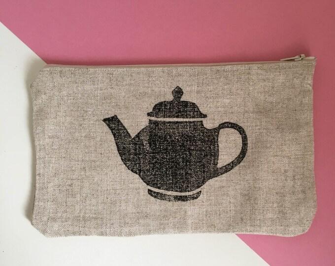 Featured listing image: Handmade Linen Teapot Pouch