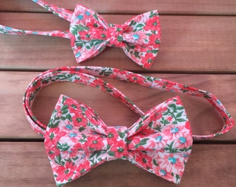 Summer Floral Bow tie.