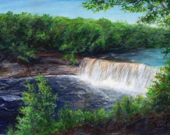 Custom Landscape Painting, Acrylic Painting Landscape, Landscape Art, Painting From Your Photo, Landscape Painting, Original Painting