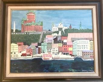 1970s Painting - Québécois - Genevieve McClane, 1971