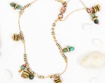 BOHO CHIC BRACELET - african turquoise