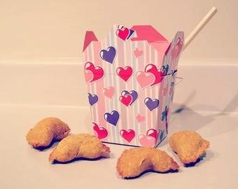 Dante's Fortune Teller Cookies /Organic Dog Treats /Healthy Dog Treats /Dog Cookies /Dog Lover Gift /Natural Pet Food