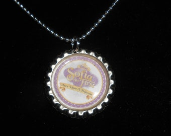 Sophia th first bottle cap necklaces