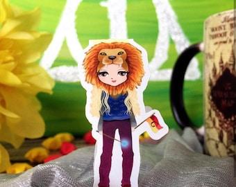 Luna Lionhead Magnetic Bookmark Single