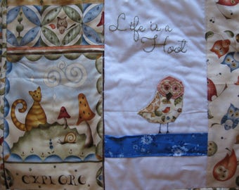 Owl Quilted Placemats