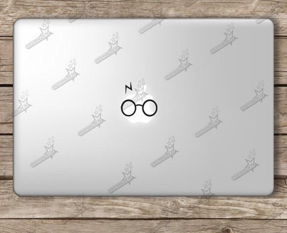 harry potter macbook sticker autocollant ordinateur portable. Black Bedroom Furniture Sets. Home Design Ideas