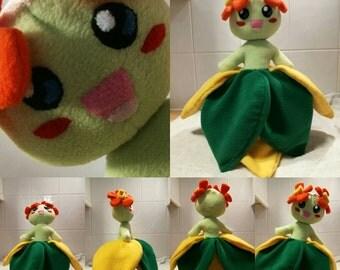 Pokemon Bellossom Plush Handmade