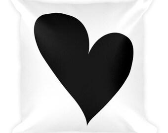 LCD Heart - Throw Pillow