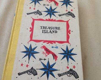 Vintage Children's Book, Treasure Island