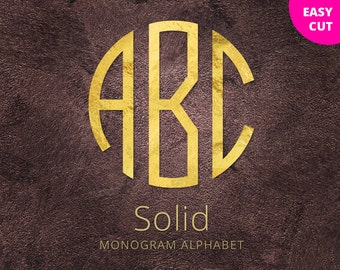 """Shop """"svg monogram"""" in Drawing, Painting & Writing Supplies"""