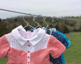 Doll Hangers 3-pk for 18'' dolls like American Girl