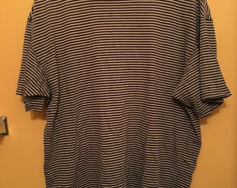 Vintage 90s Gap Striped T-shirt Size XL