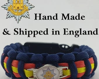The Royal Anglian Regiment Paracord Bracelet Wristband Great Gift