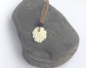 Coral necklace  beach comber find
