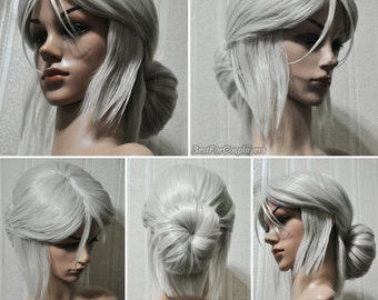 Ciri Cosplay Wig / The Witcher 3 Wild Hunt Cosplay / Cosplay Wig / Handmade