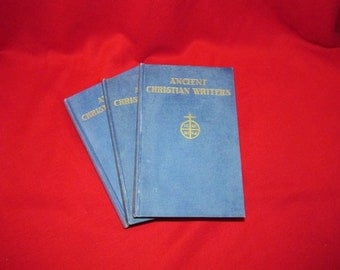 """Three Volumes of """"Ancient Christian Writers"""""""