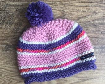 Kids' beanie, kids' knit hat, hand-knitted beanie, hand-knitted hat, kids' fashion, childrens' clothing, kids' accessories, knit beanie,