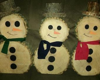 Snowmen: Set of 3