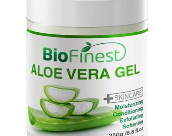 Biofinest Aloe Vera Gel - Absorb Fast/ No Sticky Residue