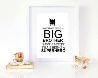 BIG BROTHER - batman / super hero