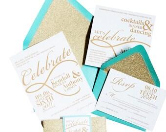 Kendall Wedding Invitation Suite