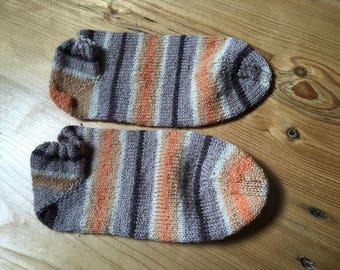 Sneakersocken, hand knitted, knitting socks, size 39/40