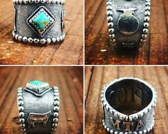 Custom Class Ring: DEPOSIT ONLY