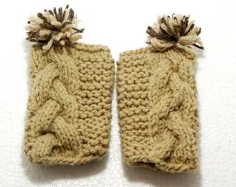 "Baby Knit Leg Warmers: ""CREAM LEG WARMERS"" Baby Leggings  Baby Leg Warmers Baby Ruffle Leg Warmers baby girls leg warmers  baby leggings A91"