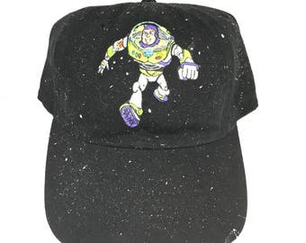 Hand Painted Buzz Lightyear Cap
