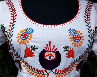 Mexican embroidery dress.