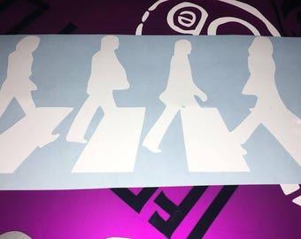 Beatles Abbey Road Sticker