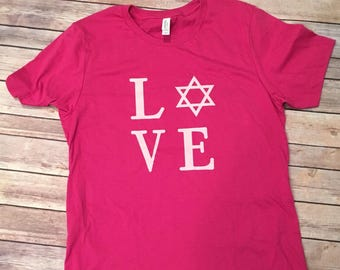 Love Star of David T-Shirt