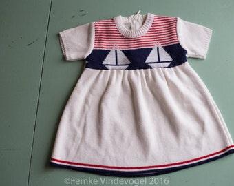 Vintage Sailor dress Bout'Chou