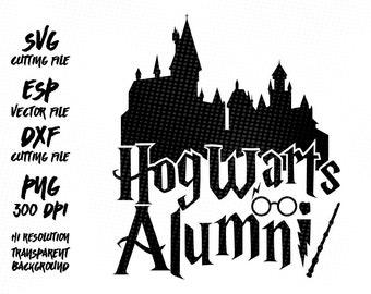 Hogwarts clipart – Etsy