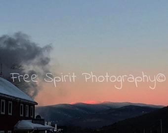 Sunrise, Mountain, Digital Download