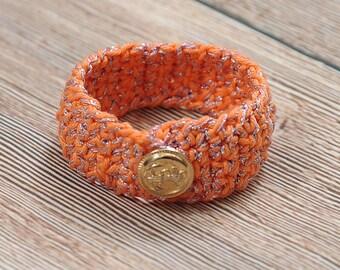 Cotton cuff, Cotton bracelet,