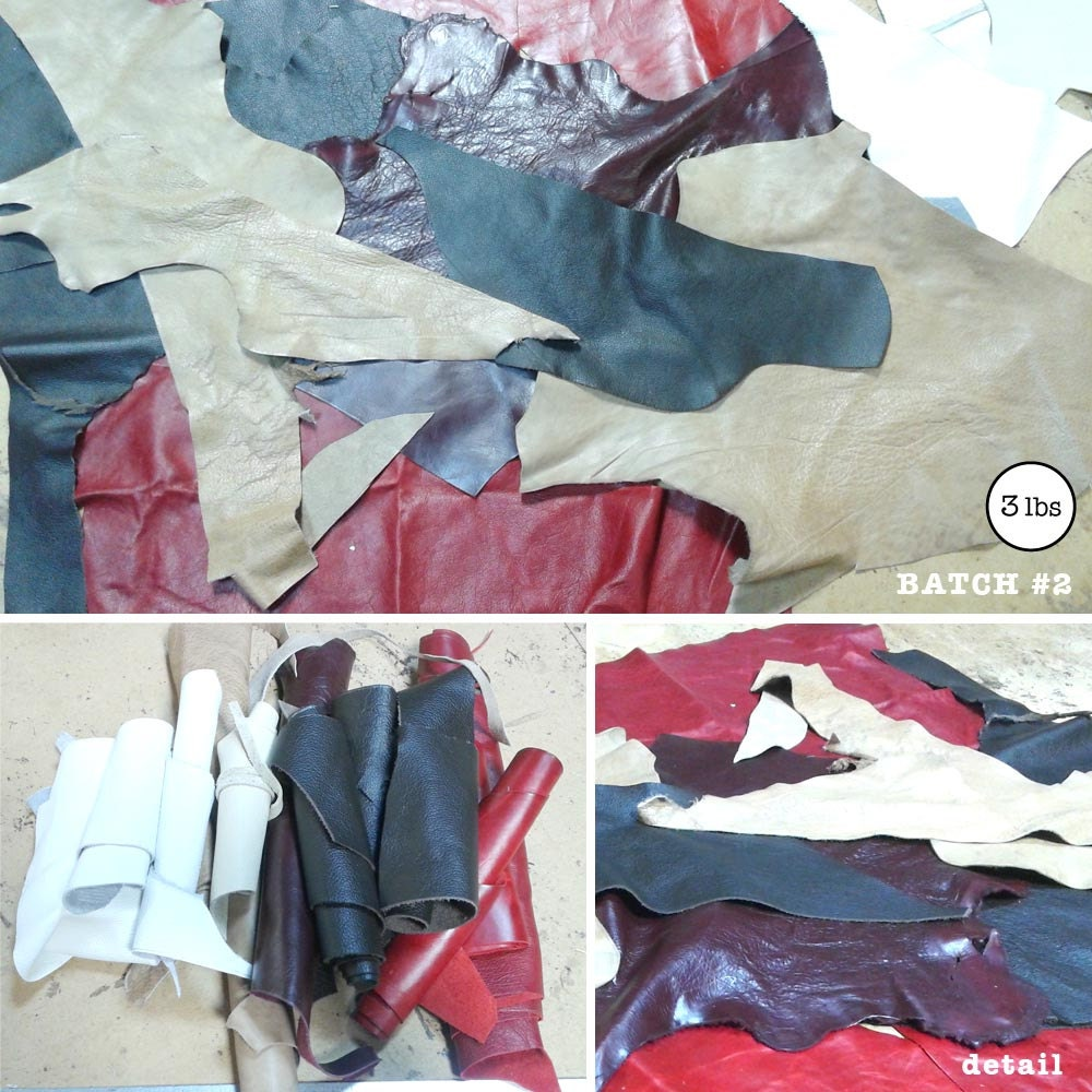 Leather scraps for crafts - Sold By Suitecitywoman