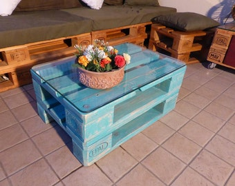 Tavolino - table Pallets Desing   by FLAB